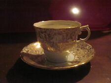 Colclough China Tea Cup & Saucer..made in Longton, England..Very Pretty