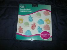 Make 'n Mold 0237 16 Cavity Baby Assortment Candy Plastic Mold Maker