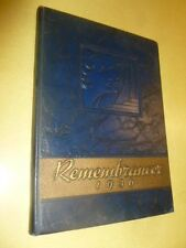 1936 Yearbook Walnut Hills High School Cincinnati Ohio The Remembrancer