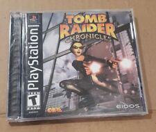 Playstation Tomb Raider: Chronicles - Ps1 - Black Label - 2000