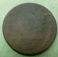 1817 Large Cent   #LC17  cull