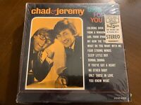 CHAD & JEREMY SING FOR YOU VINYL LP WORLD ARTISTS VG+ OR BETTER