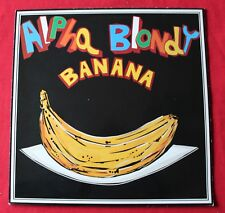 Alpha Blondy, banana / time, maxi vinyl promo