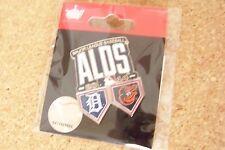 2014 Detroit Tigers vs Baltimore Orioles ALDS lapel pin AL MLB