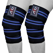 ARD Power Lifter Weight Lifting Knee Wraps Supports Gym Training Fist Straps B&B