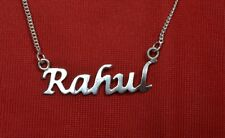 """925 SOLID STERLING SILVER PERSONALISED NAME NECKLACE CHOOSE ANY NAME 18"""" CHAIN"""