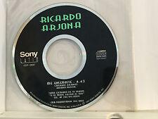 CD SINGLE 1-TRACK PROMO / RICARDO ARJONA / ME ENSEÑASTE /  Pre-Owned