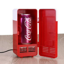 Small Mini Usb Cans Fridge - Beverage Cooler and Refrigerator