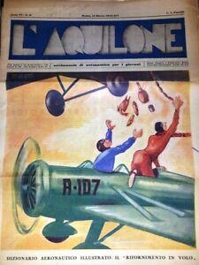 L'AQUILONE-ANNO 6 NR 11 -1936 - SETTIMANALE DI AREONAUTICA X I GIOVANI - NON COM