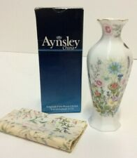 Aynsley Vase Approx 7 cm Boxed Preowned (854A31)