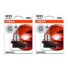 H11 Osram Original Fog Light Bulbs Front Spot Lamps Genuine