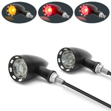 Motorbike Motorcycle LED Integrated Custom Retro Indicators & Stop and Taillight