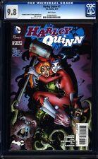 Harley Quinn 7 CGC 9.8 WP Modern Age DC Comic (2014) IGKC L@@K