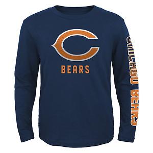 NFL Boys Hourglass Long-Sleeved Tee Bears S #NIR1K-442*
