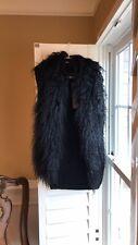 Shape FX Mongolian Fur Trimmed Vest