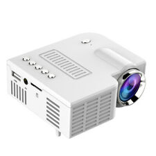 Mini micro household led small projector,white