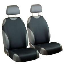 Schwarze Sitzbezüge für Alle NISSAN Autos Autositzbezug VORNE