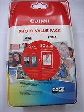 VALUE PACK  ORIGINAL CANON  PG-540 XL + CL-541XL BLACK MG-4250 4150 3650 3250
