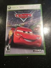 Cars - Microsoft Xbox 360 Pixar First Cover Brand New Factory Sealed