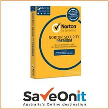 Norton Symantec Security Premium 5 Device 1 Year Email license key
