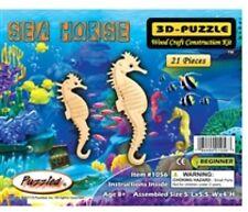 Holzbausatz Seepferdchen - 3D Puzzle