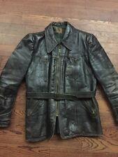 Vintage Haelson German Motorcycle/ Cafe Racer Horsehide Jacket - Med/ 38-40