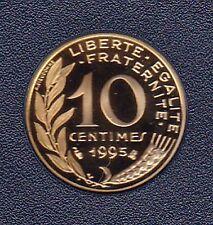 10 CENTIMES MARIANNE 1995 DU COFFRET BE