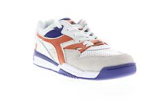 Diadora отскок Ace бета 175499-C6150 мужские белые замша низкие кроссовки обувь