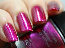 CoverGirl Outlast Stay Brilliant Nail Gloss Polish FUCHSIA FLAME Duochrome .37oz