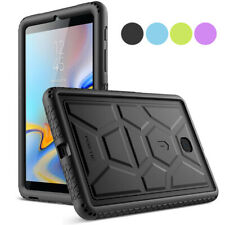 "Poetic ® para Galaxy Tab A 8.0 2018 Funda de silicona [TurtleSkin] ""a prueba de choques"" 4 Color"