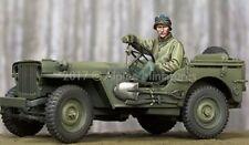 ALPINE MINIATURE WWII US JEEP DRIVER AP35242