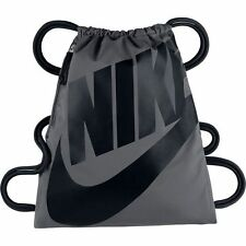 Nike Heritage Sportbeutel Turnbeutel Gym Bag Gymsack Gymback Sporttasche grau