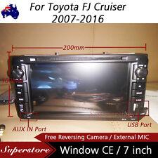"""7"""" Car DVD GPS Navi Stereo For Toyota FJ Cruiser 2007-2016"""