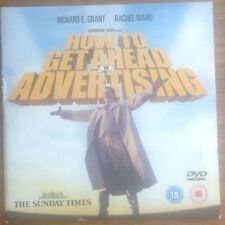 DVD - HOW TO GET AHEAD IN ADVERTISING Richard E Grant - NEWSPAPER PROMOTION