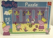 Peppa Pig Jumbo 35 Piece Puzzle Brand New Sealed