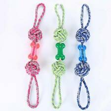 For Chewing Chewers Tough Rope Dog Rope Toys Cottonblend Color Dog Tug Toys HO3