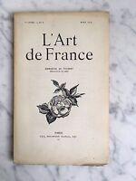 ARTE de France Emmanuel de Thubert N º 8 París 1914
