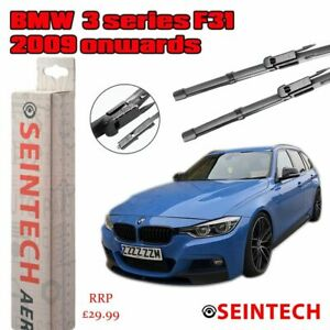 "BMW 3 SERIES F31 2009 ONWARDS SPECIFIC FIT FRONT WINDSCREEN WIPER BLADES 24""18"""