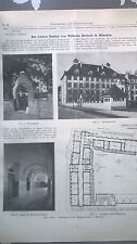 1916 54n München Simmernstr. Spielhütte Hirschanger Hebenstreitstr. / Bertsch
