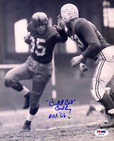 Bullet Bill Dudley SIGNED 8x10 Photo + HOF 66 Steelers PSA/DNA AUTOGRAPHED