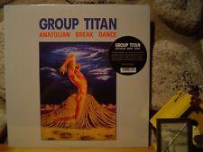 GROUP TITAN Anatolian Break Dance LP/1985 Turkey/Rare Turkish Electro-Funk/Rock