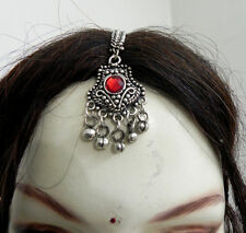Ethnic Gypsy Boho Maang Tribal Kuchi Head Piece Tika Jewelry Belly Dance Tikka