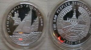 LAO for 200 Sydney olympics.  Silver proof coin.