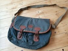Barbour Shooting Satchel Carry Case Waxed Cartridge Bag thornproof