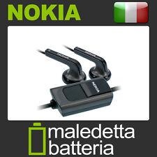Cavo Auricolare Stereo Nokia HS47/HS-47 Nero Bulk (PP6)