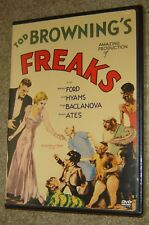 Freaks (DVD, 2004), NEW & SEALED, REGION 1,STANDARD VERSION, RARE CINEMA CLASSIC