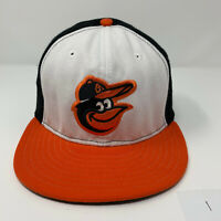 Baltimore Orioles New Era 59Fifty Fitted Official On-Field Hat Cap Size 7 3/8