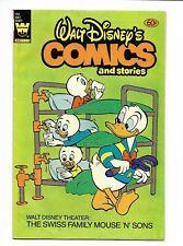 Comics and Stories #496 Whitman 1982 VG- 3.5 Walt Disney. Donald Duck.