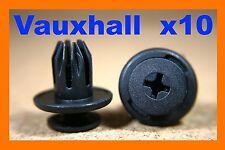 10 Vauxhall GM front rear bumper fender fascia panel plastic fastener clips
