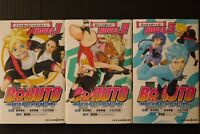 JAPAN Boruto -Naruto Next Generations- Novel vol.1~3 Set (Book)